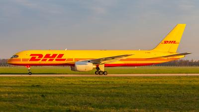 A picture of GBMRI - Boeing 757236(SF) - DHL - © Radim Koblížka