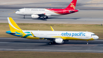 RP-C4113 - Airbus A321-211 - Cebu Pacific Air