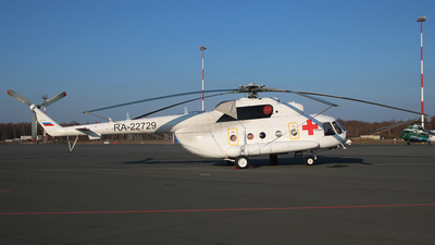 RA-22729 - Mil Mi-8AMT Hip - Private