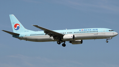 A picture of HL7599 - Boeing 7379B5 - Korean Air - © REDSOX