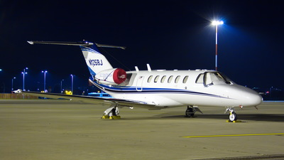 N125BJ - Cessna 525 Citation CJ2 - Private
