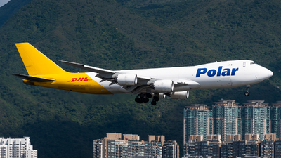 A picture of N853GT - Boeing 74787U(F) - DHL - © Adrian Tong