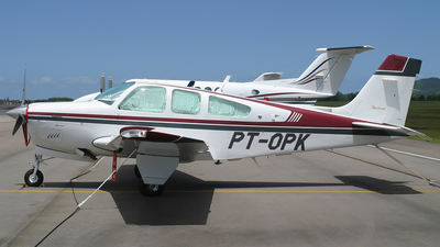 PT-OPK - Beechcraft F33A Bonanza - Private