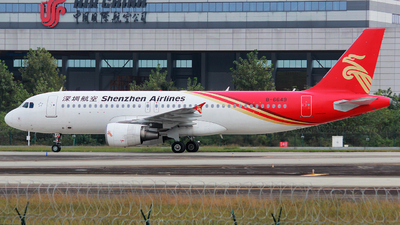 A picture of B6649 - Airbus A320214 - Shenzhen Airlines - © liuyupeng