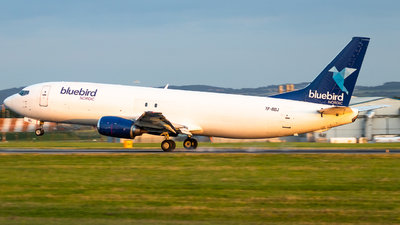 A picture of TFBBJ - Boeing 737476(SF) - Bluebird Nordic - © James Dinsdale