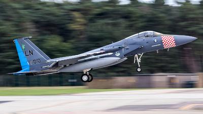 84-0010 - McDonnell Douglas F-15C Eagle - United States - US Air Force (USAF)