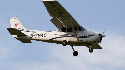 B-7940 - Cessna 172R Skyhawk - Civil Aviation Flight University of China