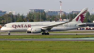 A picture of A7BCR - Boeing 7878 Dreamliner - Qatar Airways - © Pawel Cieplak