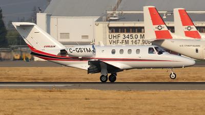 A picture of CGSYM - Cessna 525 CitationJet CJ1 - Conair - © Huy Do