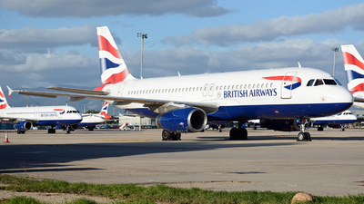 A picture of GMIDT - Airbus A320232 - British Airways - © Dani Guerrero
