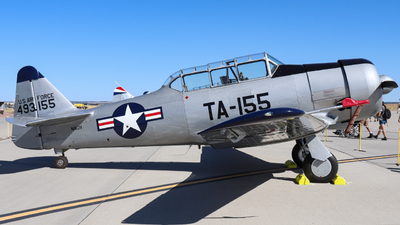 N16JV - North American T-6G Texan - Private