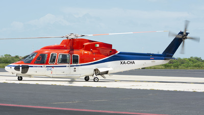 XA-CHA - Sikorsky S-76C+ - CHC Helicopters
