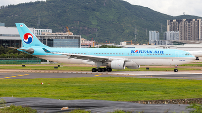 A picture of HL8003 - Airbus A330323 - Korean Air - © UNNAMED