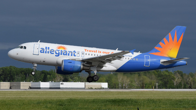 A picture of N327NV - Airbus A319111 - Allegiant Air - © DJ Reed - OPShots Photo Team