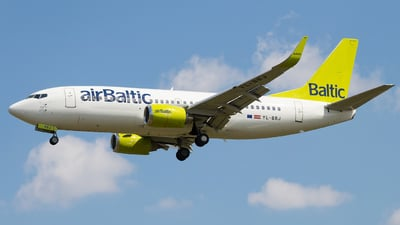 YL-BBJ - Boeing 737-36Q - Air Baltic