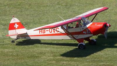 HB-OVC - Piper PA-12 Super Cruiser - Private