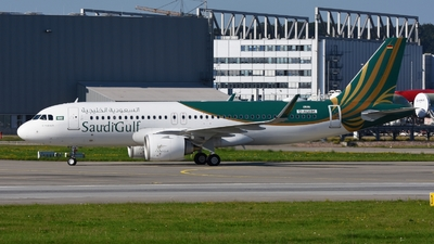 D-AUAM - Airbus A320-251N - SaudiGulf Airlines
