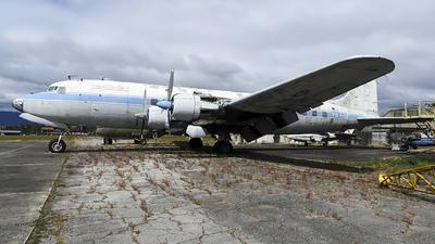 TG-WOP - Douglas DC-6B - Guatemala - Air Force
