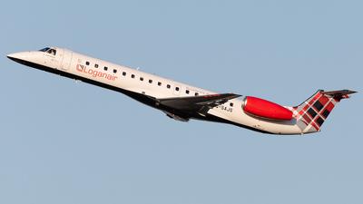 G-SAJS - Embraer ERJ-145EP - Loganair