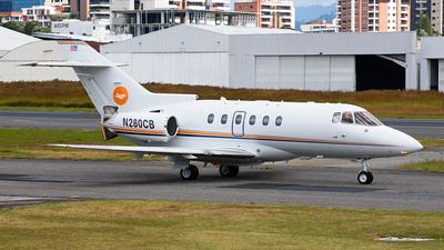 A picture of N280CB - Hawker 800XP - [258733] - © Franz Galli