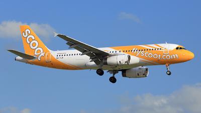 9V-TJR - Airbus A320-232 - Scoot