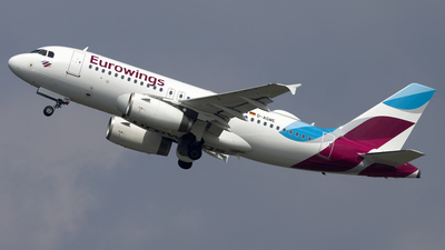 A picture of DAGWE - Airbus A319132 - Eurowings - © Sam Randles