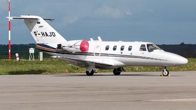 A picture of FHAJD - Cessna 525 CitationJet CJ1 -  - © Alexis Boidron