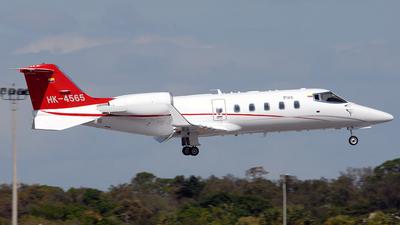 HK-4565 - Bombardier Learjet 60 - PAS - Petroleum Aviation and Services