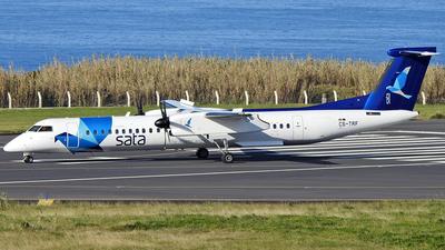A picture of CSTRF - De Havilland Canada Dash 8400 - SATA Air Acores - © Antonio Batista