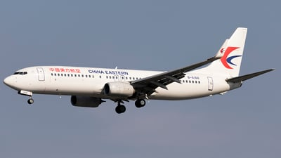 B-6166 - Boeing 737-89P - China Eastern Airlines