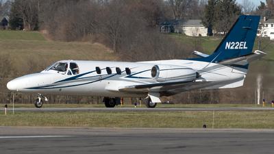 A picture of N22EL - Cessna 501 Citation ISP - [5010045] - © Connor Ochs