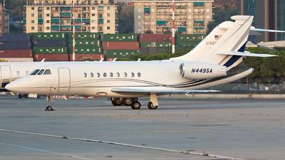 N449SA - Dassault Falcon 2000EX - Private