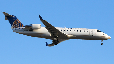 N455AW - Bombardier CRJ-200ER - United Express (Air Wisconsin)