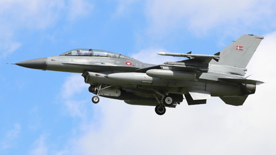 ET-612 - General Dynamics F-16BM Fighting Falcon - Denmark - Air Force