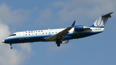 N834AS - Bombardier CRJ-200ER - United Express (ExpressJet Airlines)