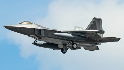 06-4122 - Lockheed Martin F-22A Raptor - United States - US Air Force (USAF)