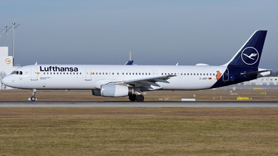 A picture of DAIRY - Airbus A321131 - Lufthansa - © Eugen O.