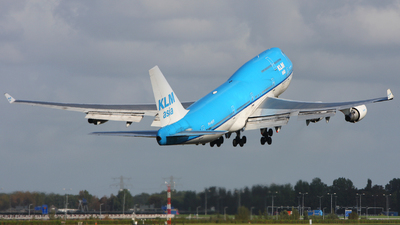 PH-BFF - Boeing 747-406(M) - KLM Asia