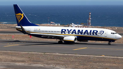 A picture of EIEFK - Boeing 7378AS - Ryanair - © Martín Marrero Hdez