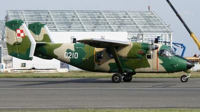 0210 - PZL-Mielec M-28B/PT Skytruck - Poland - Air Force