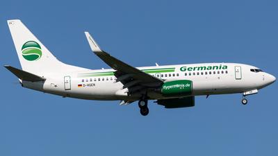 D-AGEN - Boeing 737-75B - Germania