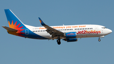 G-GDFM - Boeing 737-36N - Jet2.com