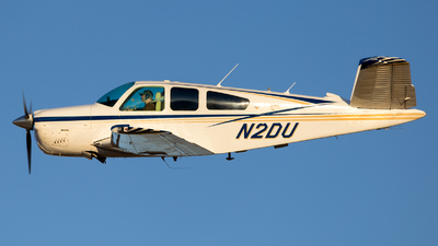N2DU - Beechcraft V35B Bonanza - Private