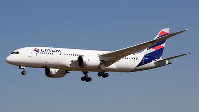CC-BBJ - Boeing 787-8 Dreamliner - LATAM Airlines