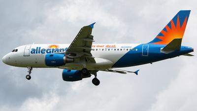 N306NV - Airbus A319-112 - Allegiant Air