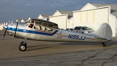 N195JJ - Cessna 195 - Private