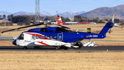 A picture of LNONV - Sikorsky S92A - Bristow Helicopters - © Witold Ozimek
