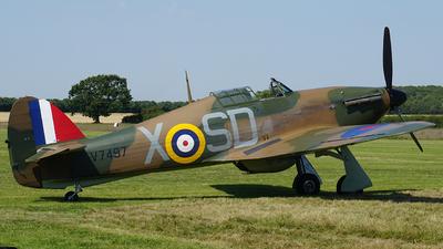 G-HITT - Hawker Hurricane Mk.I - Private