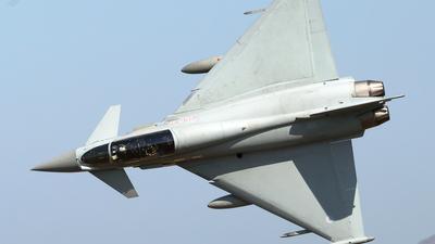 ZJ812 - Eurofighter Typhoon T.1 - United Kingdom - Royal Air Force (RAF)