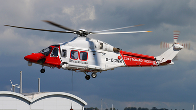 A picture of GCGWB - AgustaWestland AW139 - CHC Helikopter Service - © Bradley Bygrave